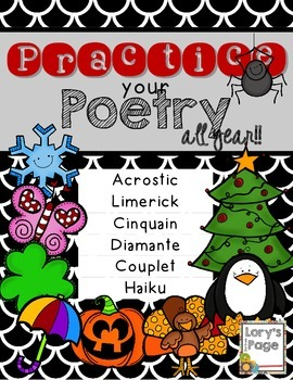 Practice Your Poetry... All Year!!