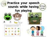 Practice Your Speech Sounds with Mr. Frog and Mr. Monkey