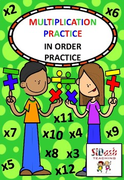 Practice Your Times Tables - Basic Practice