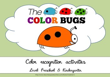 Practice colors - matching, writing, counting, naming - Bundle