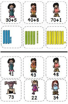 Tens and Ones With the Base Ten Kids Numbers and Operations