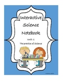 Practice of Science Unit Long Interactive Notebook Package
