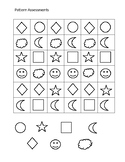 Practice or Assessment for patterns