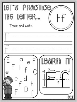 Practice the Letter