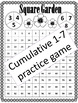 Practice the Sevens Multiplication Support Mini Pack
