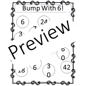 Practice the Sixes Multiplication Support Mini Pack