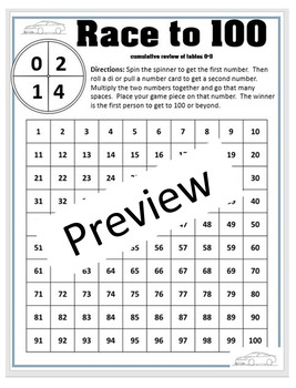 Practice the Threes Multiplication Support Mini Pack