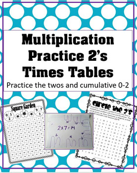 Practice the Twos Multiplication Support Mini Pack