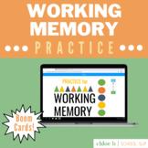 Practice to Improve Working Memory - Speech Language Thera