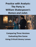 Romeo and Juliet Party Scene: Practice with Analysis