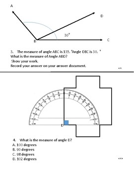 Practice with Angles!