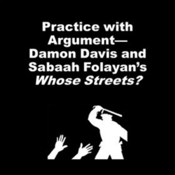 Practice with Argument—Damon Davis and Sabaah Folayan's Whose Streets?