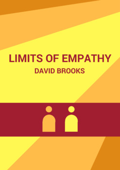 The Limits of Empathy by David Brooks: Practice with Argument