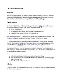 thatcher ap lang sample essays