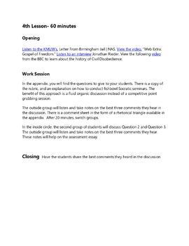 Martin luther king birmingham jail essay