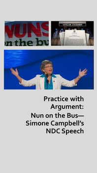 Practice with Argument: Nun on the Bus—Simone Campbell's NDC Speech