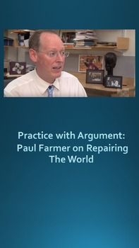 Practice with Argument: Paul Farmer on Repairing The World