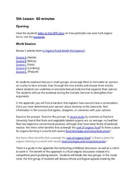 Rachel Carson's Silent Spring: Practice with Rhetorical Analysis/Synthesis