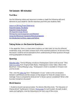 Preschool application essay