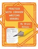 Common Writing Error Practice