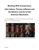 John Adams and Thomas Jefferson: Practice with Comparisons