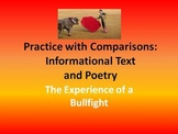 The Experience of a Bullfight: Practice with Comparisons