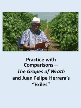 """Practice with Comparisons—The Grapes of Wrath and Juan Felipe Herrera's """"Exiles"""""""