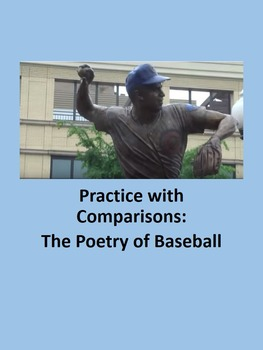 Practice with Comparisons: The Poetry of Baseball