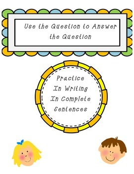Practice with Complete Sentences 2