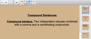 Practice with Compound Sentences