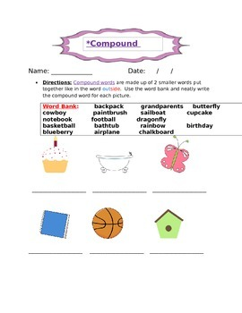 Practice with Compound Words