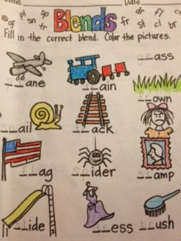 Practice with Consonant Blends