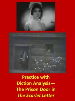 The Scarlet Letter The Prison Door Scene: Practice with Diction Analysis