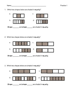 Practice with Fractions