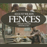 August Wilson's Fences Father and Sons: Practice with Literary Analysis