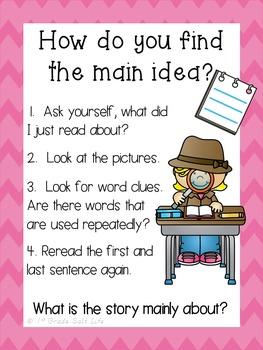 Main Idea Practice / Main Idea Worksheets / Learning about Main Idea