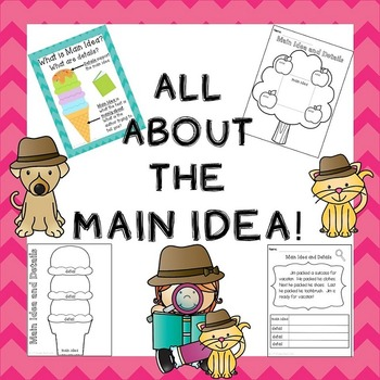 Main Idea Practice / Main Idea Worksheets / Learning about