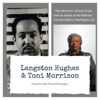 Practice with Paired Passages: Langston Hughes and Toni Morrison