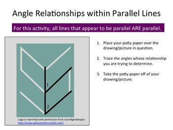 Practice with Parallel Lines