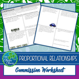 Commission Worksheets