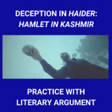 Deception in Haider or Hamlet in Kashmir: Practice with Persuasion
