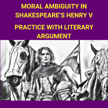 Practice with Persuasion—Moral Ambiguity in Shakespeare's Henry V