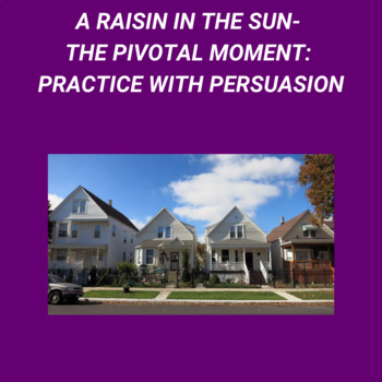 Practice with Persuasion—The Pivotal Moment in A Raisin in