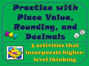 Practice with Place Value, Rounding, and Decimals