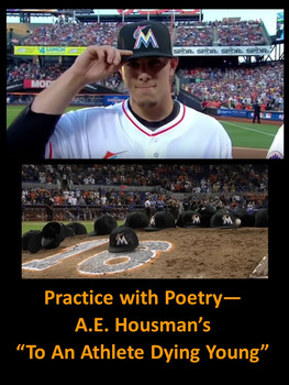 "Practice with Poetry— A.E. Housman's ""To An Athlete Dying Young"""