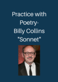 Sonnet by Billy Collins: Practice with Poetry