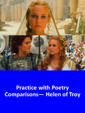 Practice with Poetry Comparisons— Helen of Troy