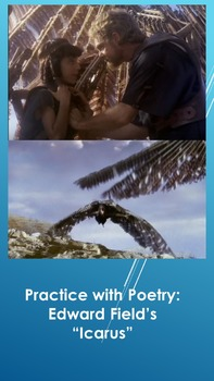 """Practice with Poetry: Edward Field's """"Icarus"""""""