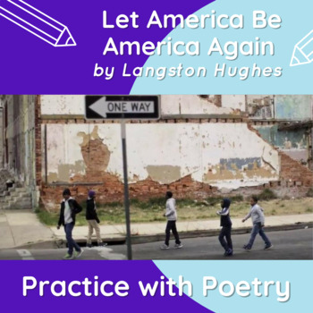 Let America Be America Again by Langston Hughes: Practice with Poetry