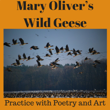 """Practice with Poetry: Mary Oliver's """"Wild Geese"""""""